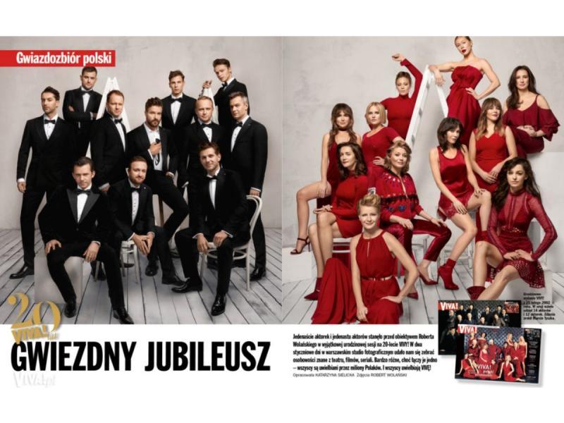 Na 20. urodziny magazynu VIVA! Polski Gwiazdozbiór na dwóch okładkach!