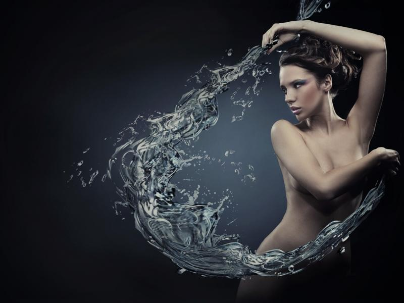 Na cellulit – zimna woda