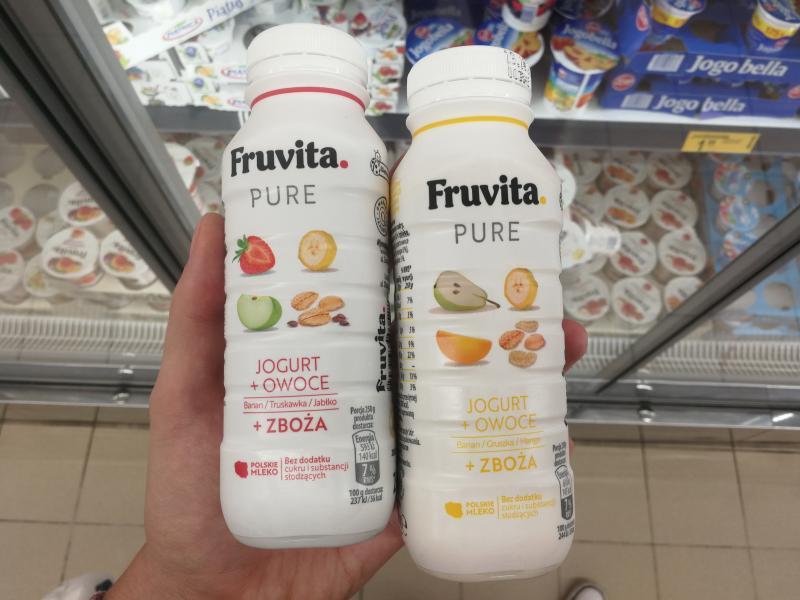 fruvita pure jogurt pitny