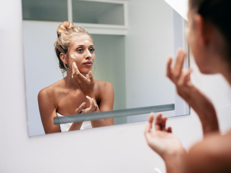 kremy z filtrem spowalniają starzenie się skóry