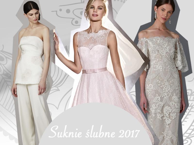 6bef59a12b Najmodniejsze suknie ślubne 2017  zdjęcia