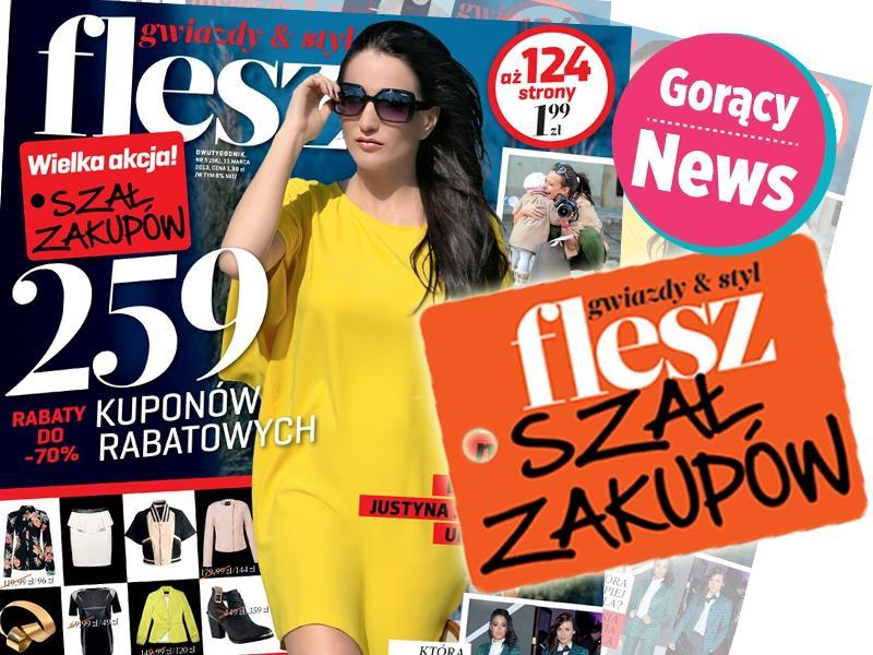 """Największa akcja rabatowa w Polsce z magazynem """"Flesz"""""""