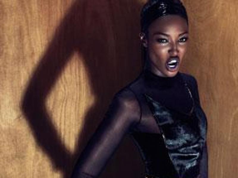 Naomi w Kampanii Givenchy