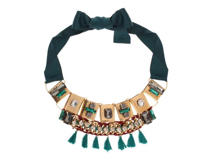 Naszyjnik w stylu etno pochodzący z kolekcji Parfois dostępny w cenie 119,90 zł