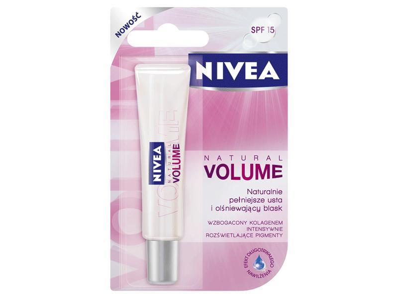 Natural Volume - Nivea Lip Care