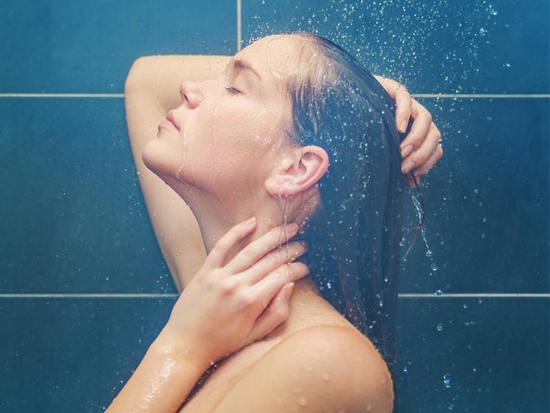 Nawilżający prysznic