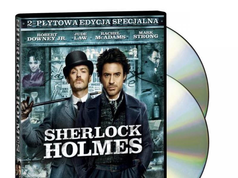 Niezwykłe przygody Sherlocka Holmes'a już na DVD