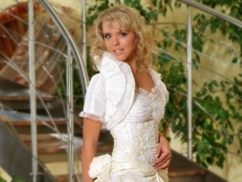 7f68726f20 Nowa suknia ślubna z kolekcji Kareen na rok 2009