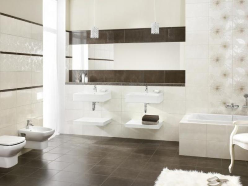 Nowoczesna łazienka Z Ceramiką Paradyż Aranżacje Wnętrz