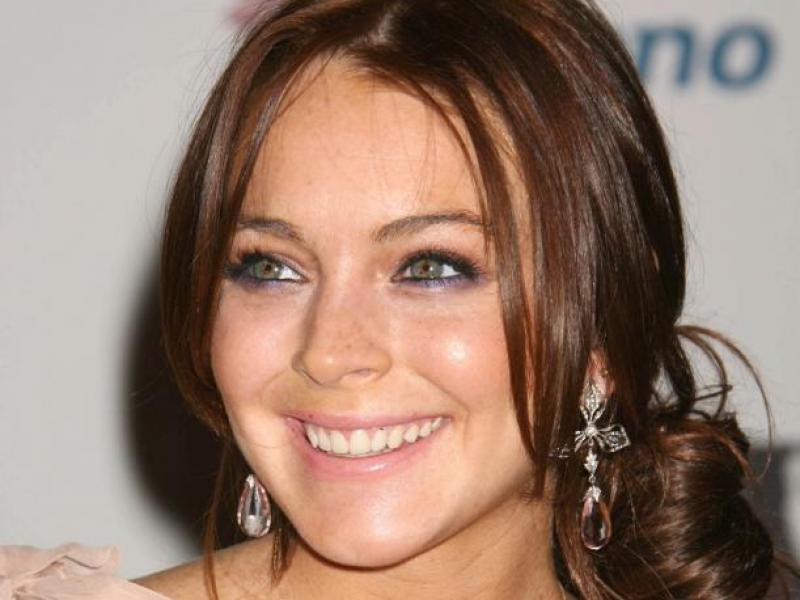 Nowy kolor włosów Lindsay Lohan