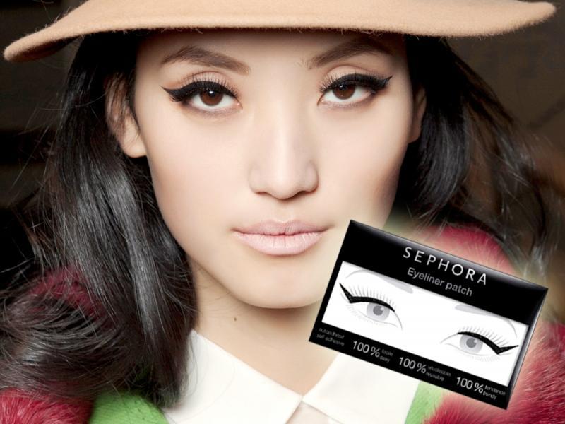 Nowy sposób na kreski - naklejany eyeliner