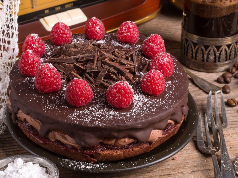Odchudzające ciasto czekoladowe