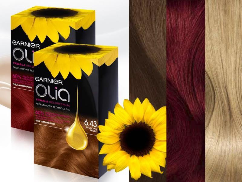 Garnier, Olia, farby do włosów