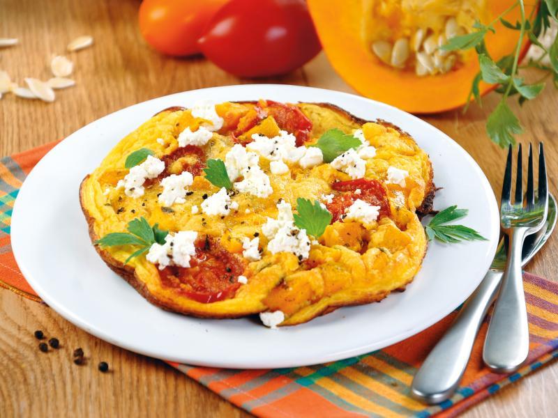 Omlet dyniowy
