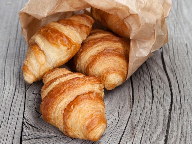Oryginalne francuskie croissanty