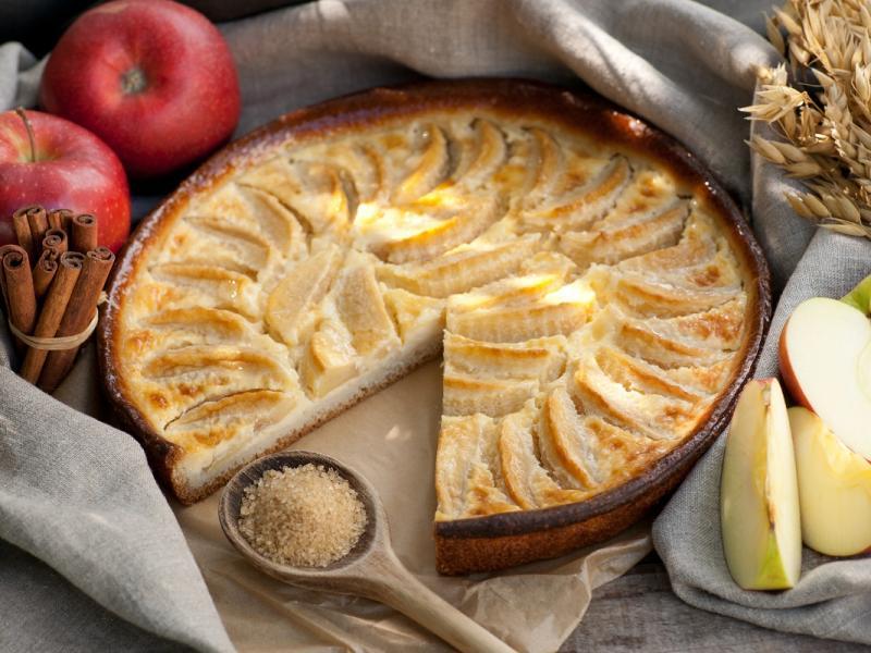 Orzechowy jabłecznik