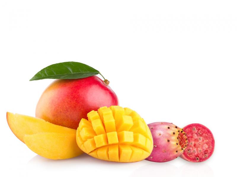mango i opuncja figowa
