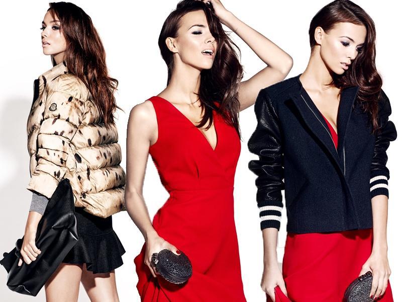 Paulina Krupińska, Miss Polonia 2012 reklamuje eklskluzywny sklep