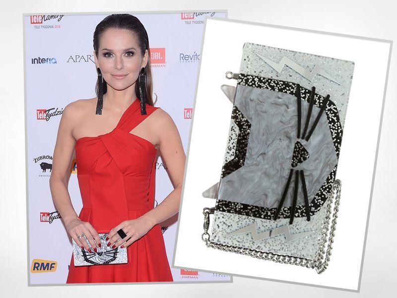 Paulina Sykut nosi ekstrawagancką kopertówkę