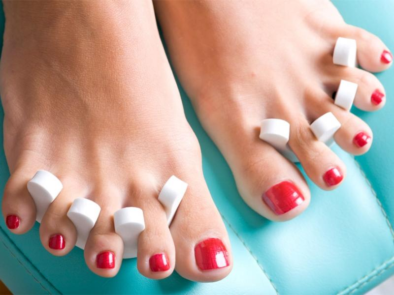 Pedicure bez wpadek