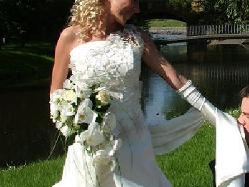 Piękna Suknia ślubna Włocławek Suknie ślubne Ogłoszenie Komis