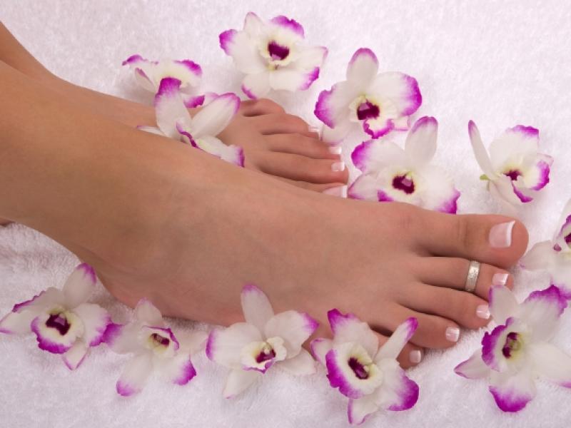 Piękne stopy w 15 minut