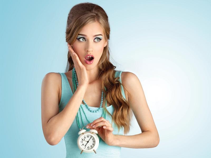 Pielęgnacja z zegarkiem w ręku