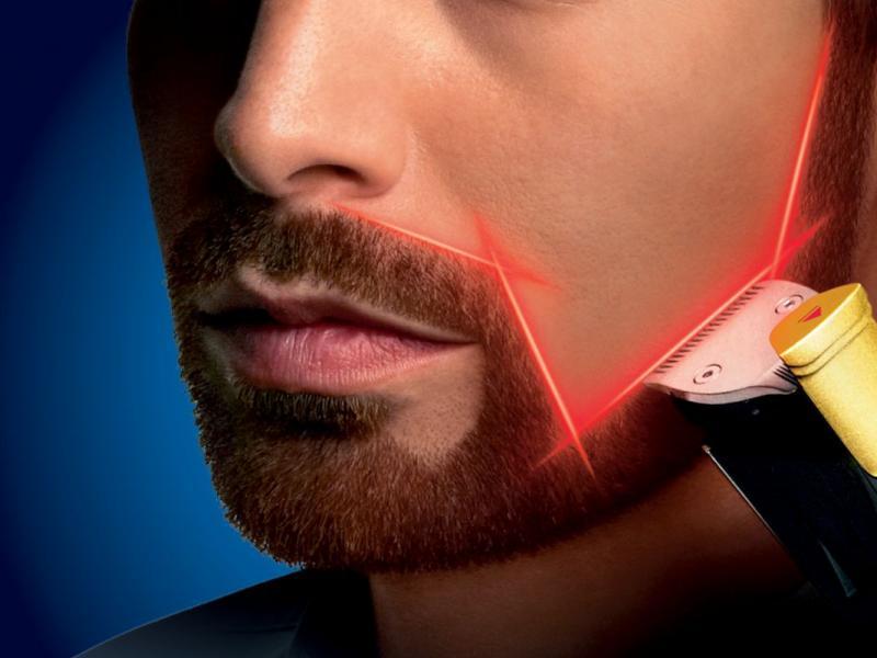 Pierwszy na świecie trymer do brody z prowadnicą laserową