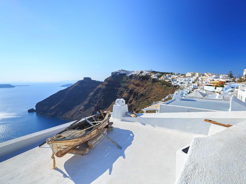 Podróżnicze inspiracje: Santorini - niebiańska wyspa na Cykladach