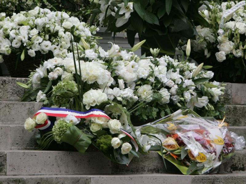Pogrzeb Yves Saint Laurenta