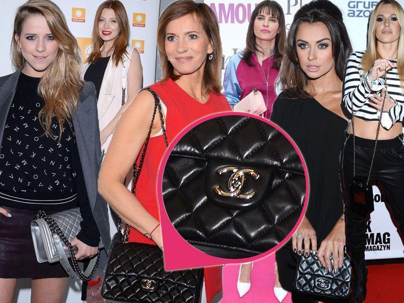 Polskie gwiazdy kochają bardzo drogie torebki Chanel