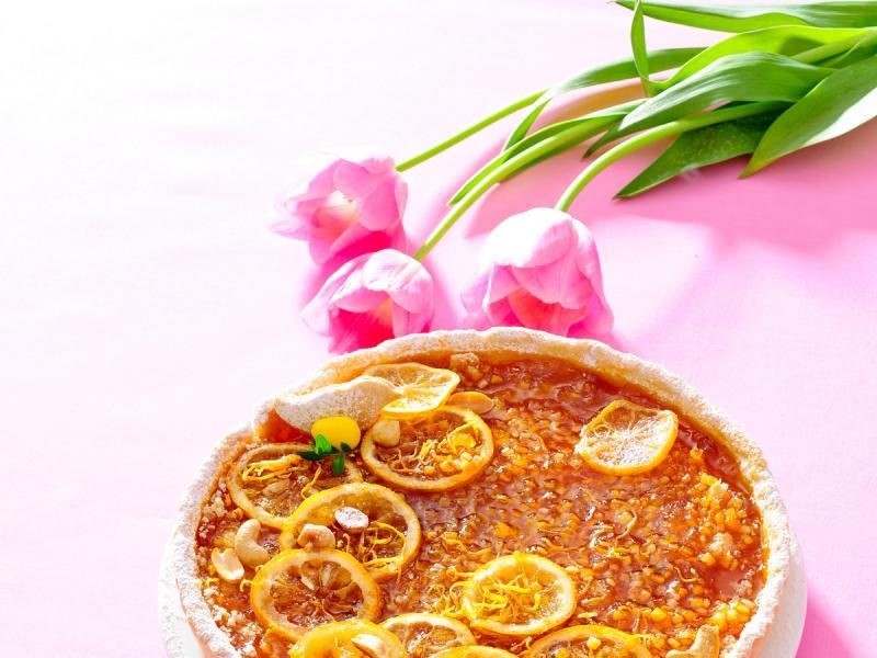 Pomarańczowy mazurek