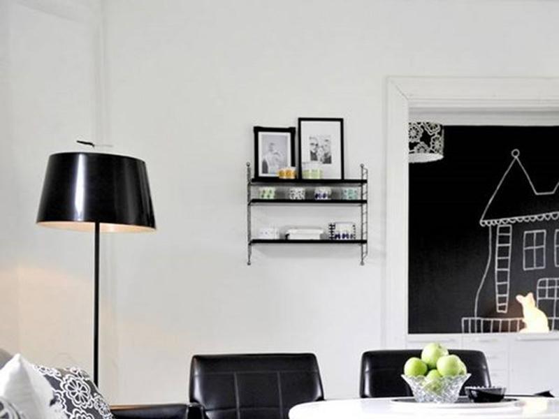 Minimalistyczna Czarno Biała Sypialnia Minimalistyczne Czarno
