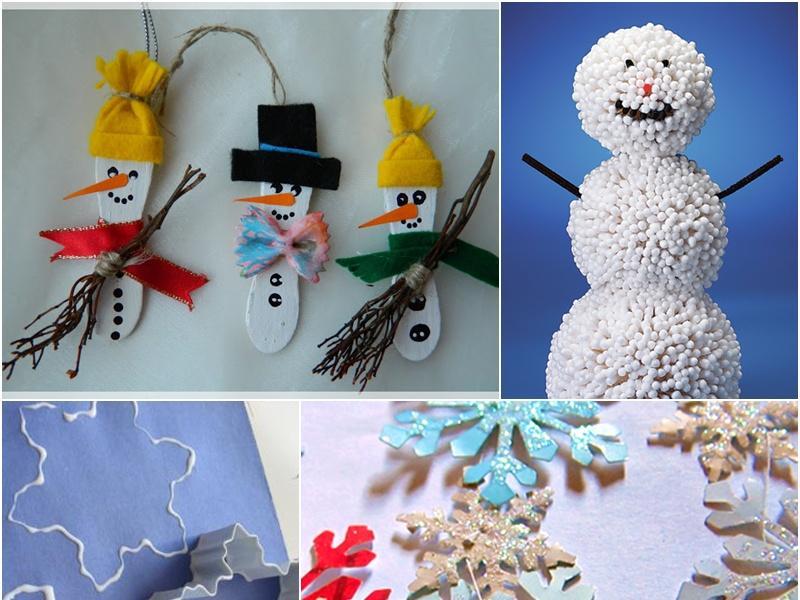 Pomysły Na Zimowe Prace Plastyczne Dla Dzieci Dziecko Polkipl