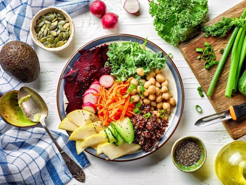 Posiłek, który dostarcza dużej ilości białka roślinnego