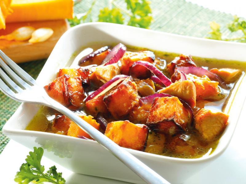Potrawka z dyni i kurczaka
