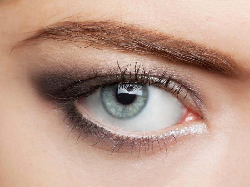 Powiększ oko makijażem