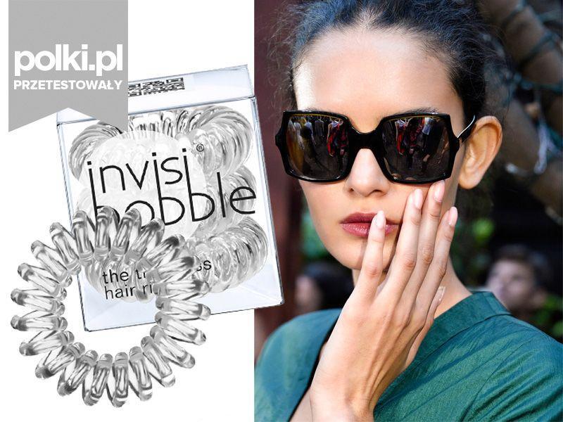 Produkt miesiąca: gumka do włosów Invisibobble