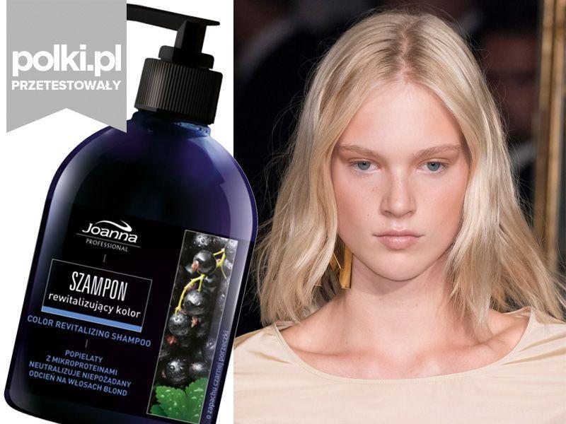 Produkt miesiąca: szampon rewitalizujący kolor do włosów blond Joanna