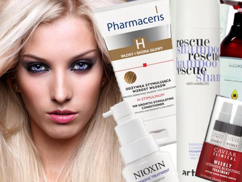 Przegląd kosmetyków przeciw wypadaniu włosów
