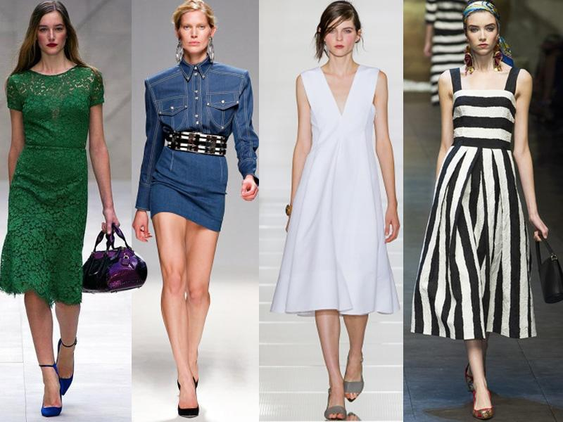 Przegląd wiosennych trendów: sukienki