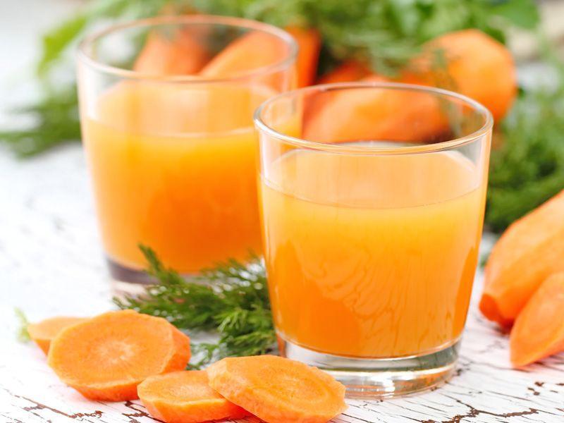 Przepis Beaty Pawlikowskiej: sok z mango i marchewki