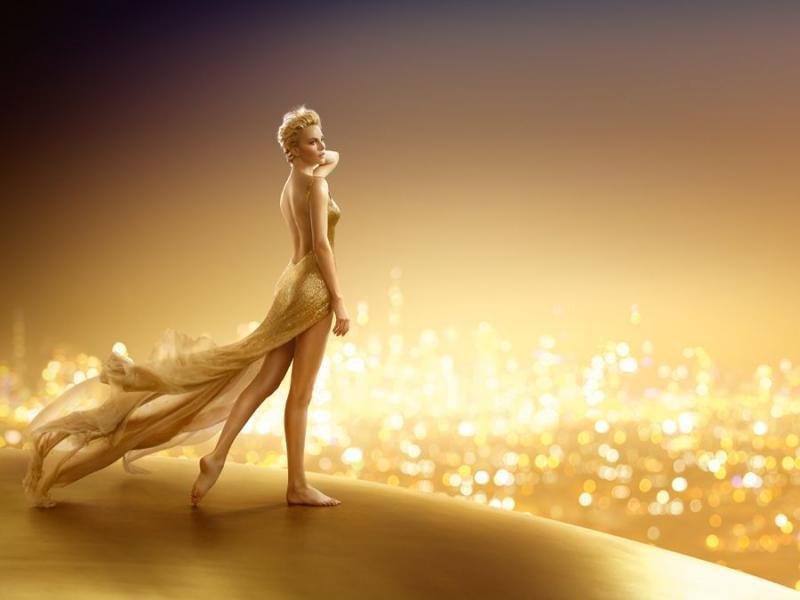 Przyszłość jest złota - w nowej kampaniii J'adore Dior