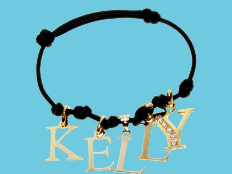 Przywieszki w kształcie literek - nowość Kelly Melu