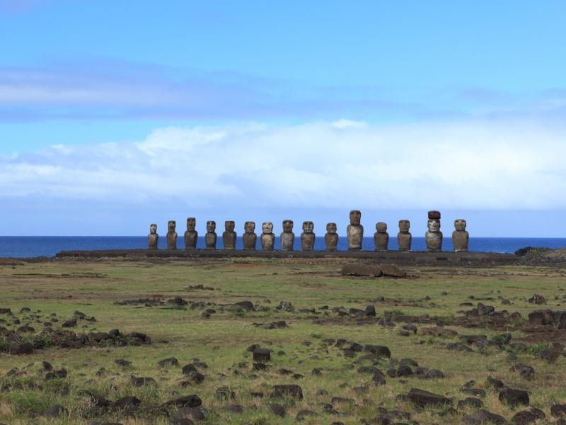 Rapa Nui. Tajemnice Wyspy Wielkanocnej