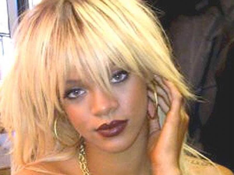 Rihanna blondynką