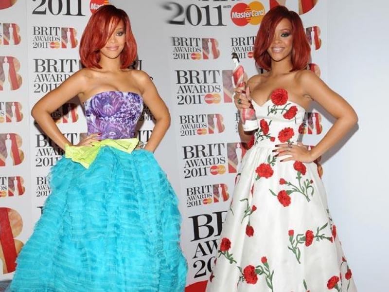 Rihanna na Brit Awards - jak lepiej