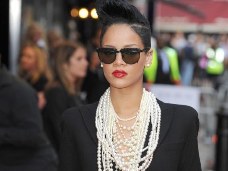 Rihanna - punkowa Coco Chanel