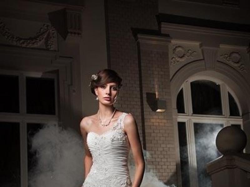Romantyczna Suknia ślubna Z Muślinu Sprzedam Suknie ślubne