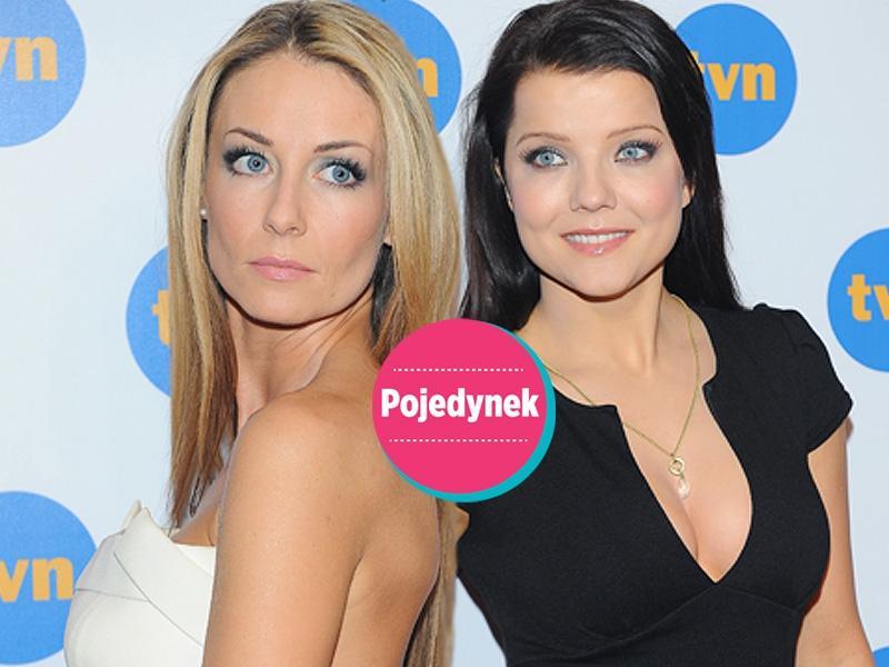Rozenek czy Jabłczyńska - kto ładniej na ramówce TVN?